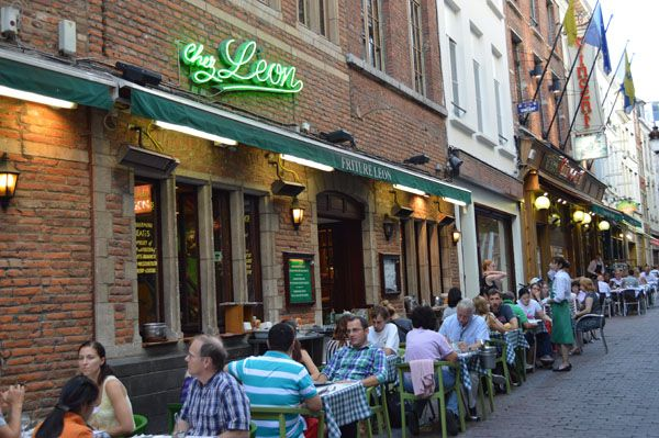Our Favorite Restaurants in Brussels Belgium - Chez Leon 2