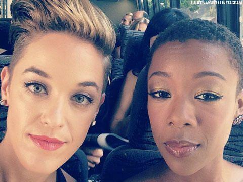 Lauren Morelli and Samira Wiley, la nueva pareja de moda.