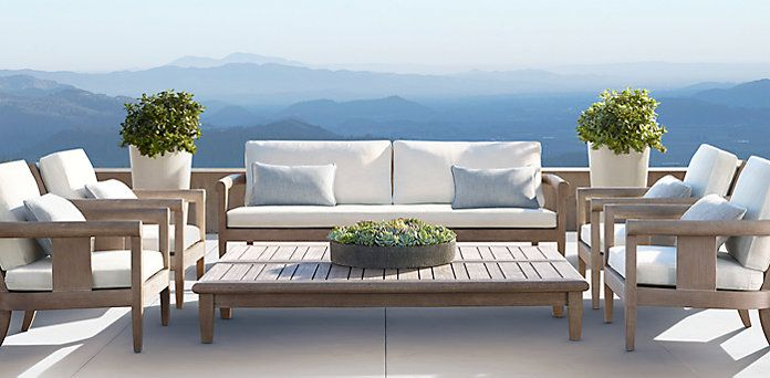 Best 25 restoration hardware outdoor furniture ideas on for Restoration hardware teak outdoor furniture
