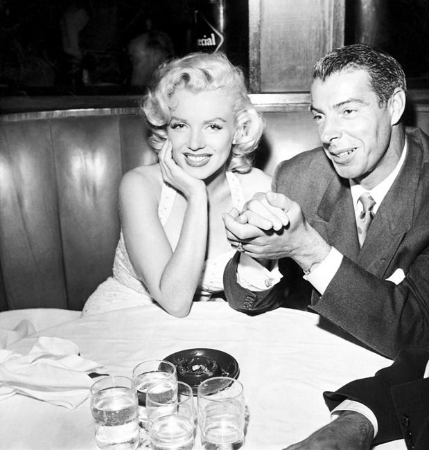 Marilyn Monroe et Joe DiMaggio