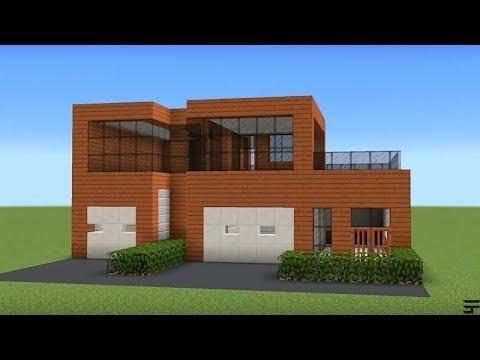 Minecraft How To Build A Acacia Modern House Minecraft
