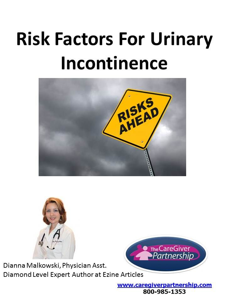 urinary incontinence and risk The client with urinary retention or incontinence  a client with urinary incontinence chapter 26 / nursing care of clients with urinary tract disorders 741.