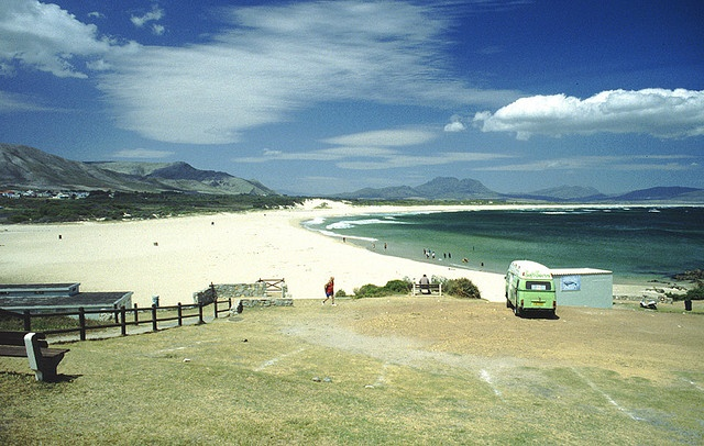 Kleinmond beach, South Africa by John Charalambous, via Flickr