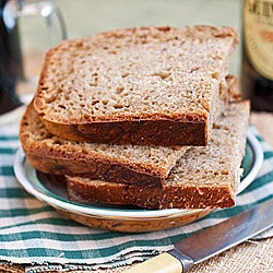 Guinness Stout Bread--makes an excellent snack, or good toast, for St. Paddy's Day or any other day!