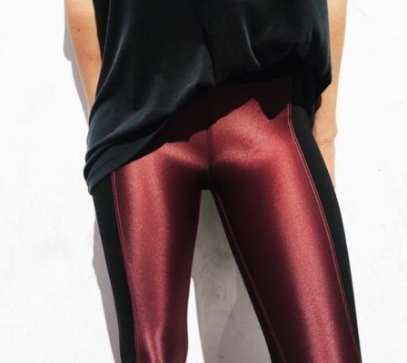 Shiny leggings now come in every color—here are 9 you'll definitely want right now