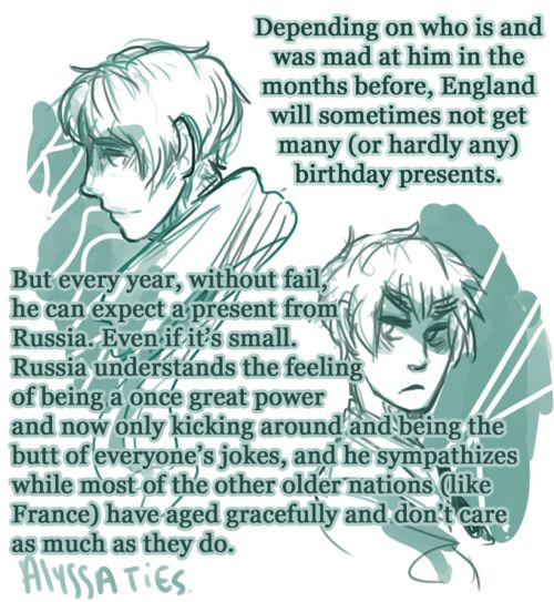 ... France sends flowers to all the countries on their birthday, but doesn't say it's him of fear that they might send it back because they hate France
