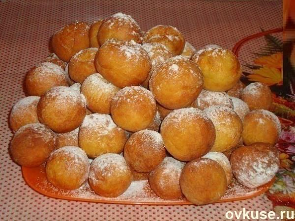 Творожные пончики - Простые рецепты Овкусе.ру