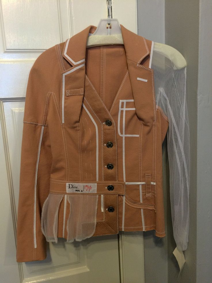 schuhtutehemd:  Jacket arrived this morning for Strut's archive. From Dior SS 2006 by John Galliano.