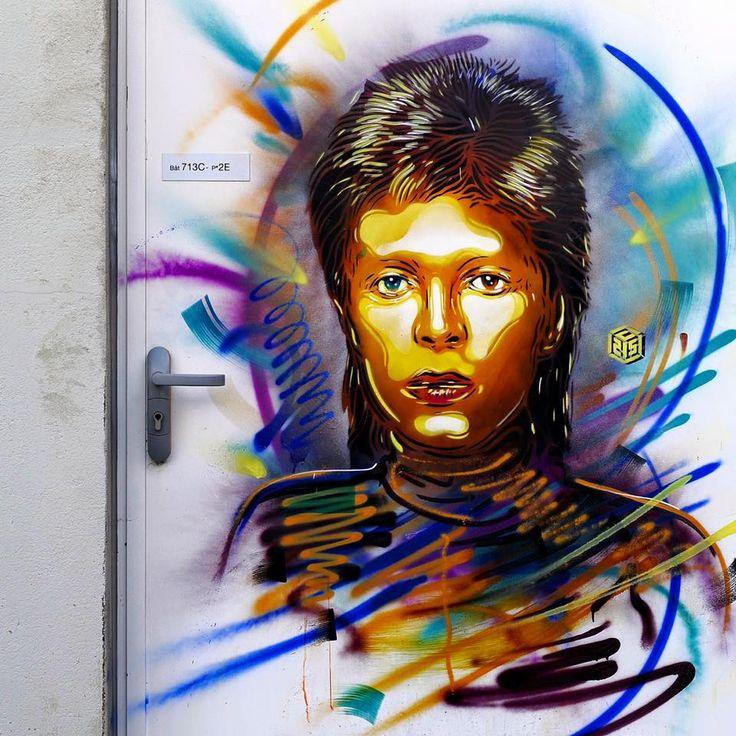 David Bowie Painting Wall Phoenix