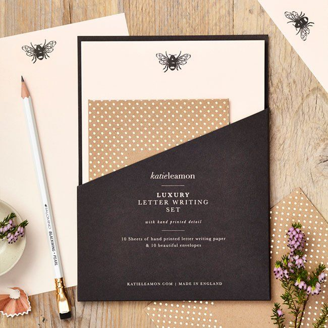 Luxury Letter Writing Sets from Katie Leamon - Paper Crave