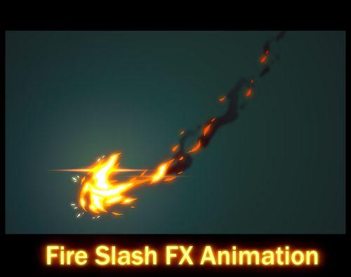Fire Slash FX Animation by AlexRedfish.deviantart.com on @deviantART