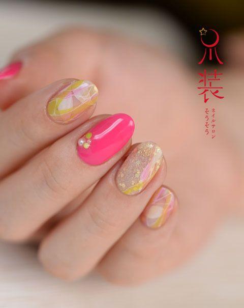 人魚の森  nail salon 爪装 ~sou-sou~ (入間・狭山・日高・飯能 自宅ネイルサロン)