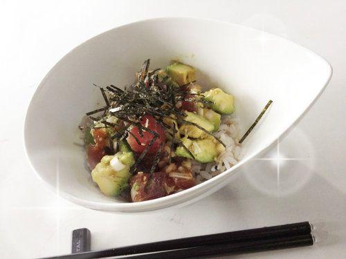 ごま油が香る、まぐろアボカド丼の作り方   nanapi [ナナピ]