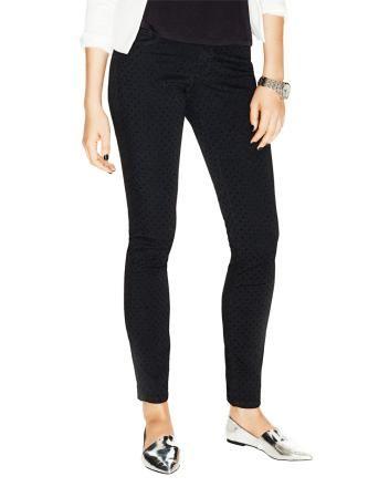 Black tone-on-tone polka dot pants from Smart Set!