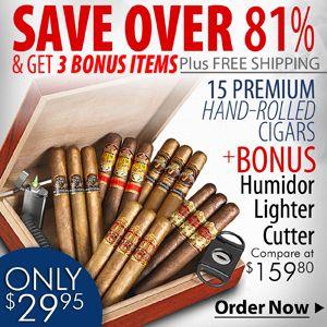 Thompson Cigar Sampler Pack
