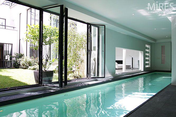 Paris C0096 PIECES PRINCIPALES + Afficher toutes les pièces « Atrium moderne. C0096 » Luxe, calme et voie lactée. C0096