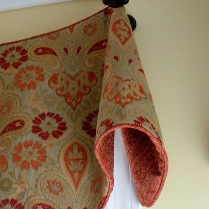 Traditional Kitchen Photos Fabric Valance Design Pictures