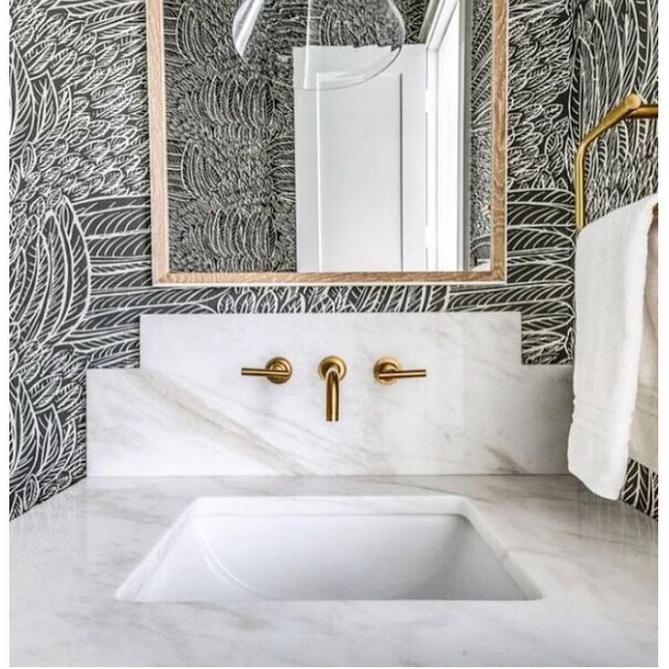 """830 Likes, 27 Comments - Mrs.Paranjape Design+Interiors (@mrsparanjape) on Instagram: """"Powder rooms are never to be forgotten in a design plan. This one clearly had some love and…"""""""