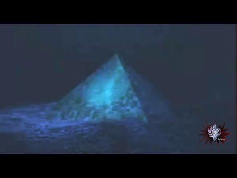Pirámides de Cristal fueron descubiertas debajo del Triángulo de las Bermudas - YouTube