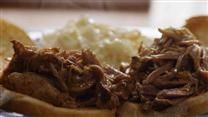 :: JENNA-TESTED, very good. campbell's slow-cooked pulled pork sandwiches. I used pork tenderloin.