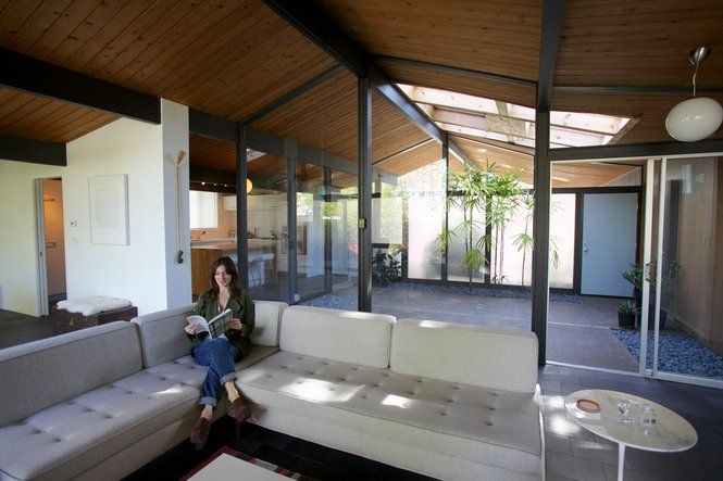 17 best images about eichler rummer on pinterest home for Modern house tour