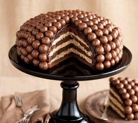 Maltesers cake en 3 étapes