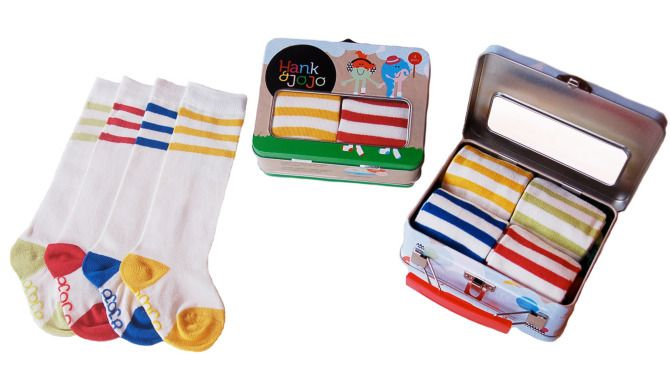 Retro Baby Tube Socks - Hank & JoJo