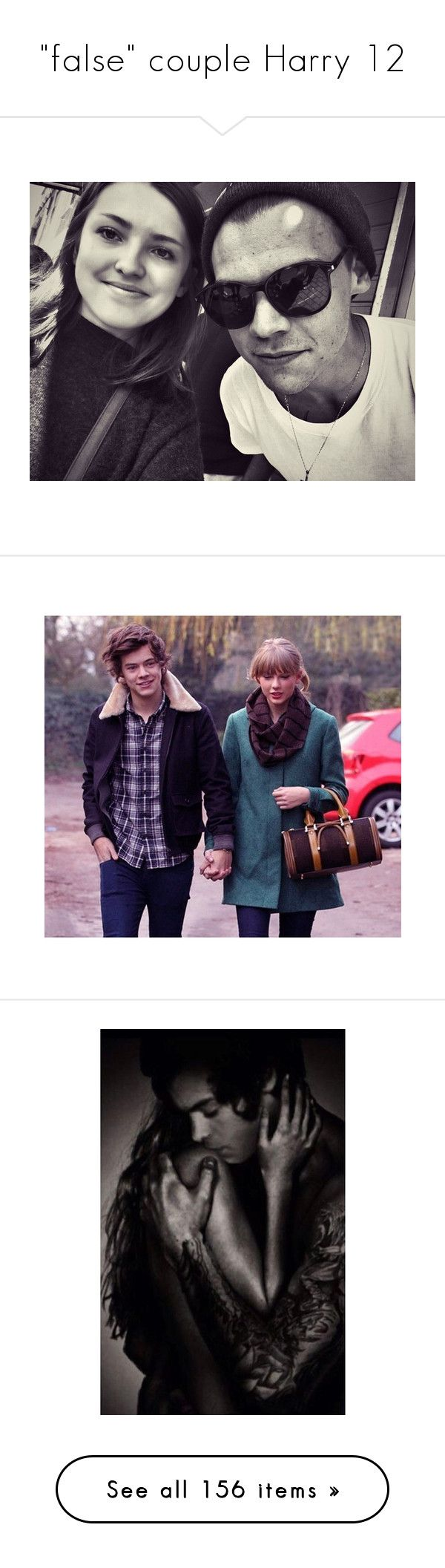 """""""""""false"""" couple Harry 12"""" by ivystyles ❤ liked on Polyvore featuring & - pictures - taylor swift, taylor swift, hendall, harry styles, one direction, harry, people, 1d, kendall jenner and pictures"""