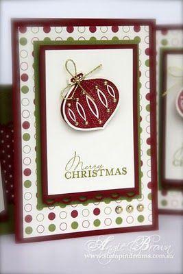 use stampin up ornamental keepsakes