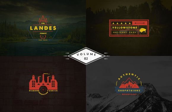 Check out Vintage Logo Templates - vol 2 by Brazvan on Creative Market