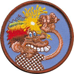 """Grateful Dead - Europe '72 Ice Cream Kid Patch - $4.99 From the Grateful Dead album Europe '72 design is the ice cream kid patch. This patch is 3"""" round. Embroidered patches can be ironed on or sewn on.  Officially licensed Grateful Dead merchandise."""