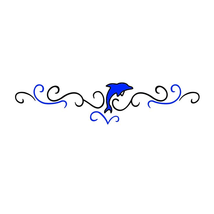 Lower Back Dolphin Tattoos - Bing Images