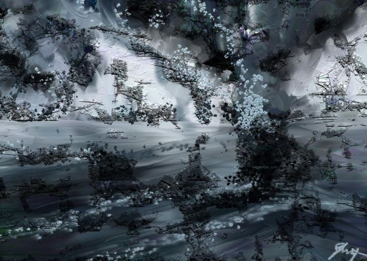 DIES IRAE - Arts numériques ©2014 par Gabriela Simut -                                        Art abstrait, Art abstrait
