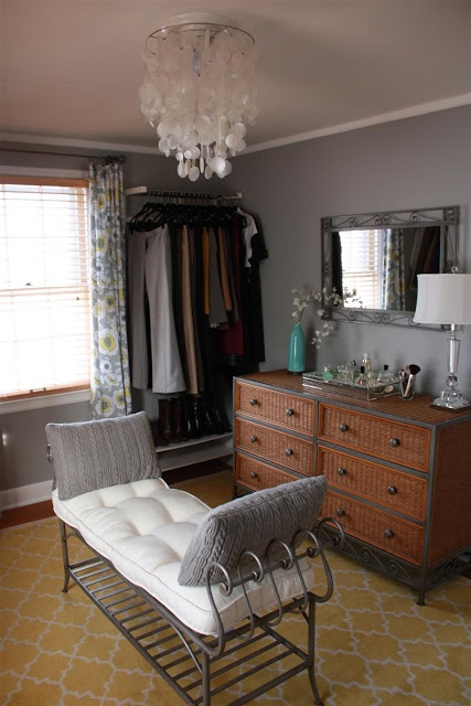 Turn A Small Extra Bedroom Into Dressing Room Yes