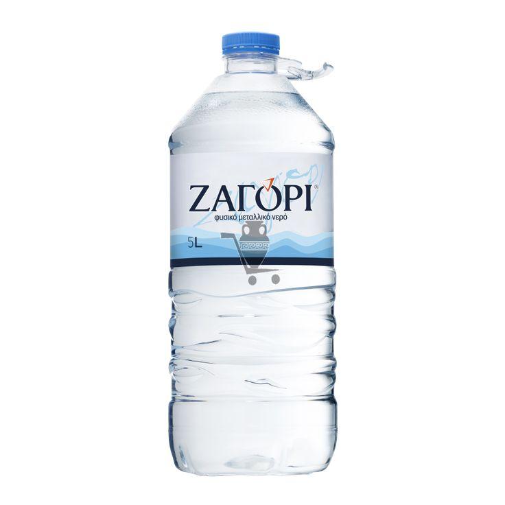 """Минеральная Вода """"ZAGORI"""" PET 5 Lt (2 шт.)"""