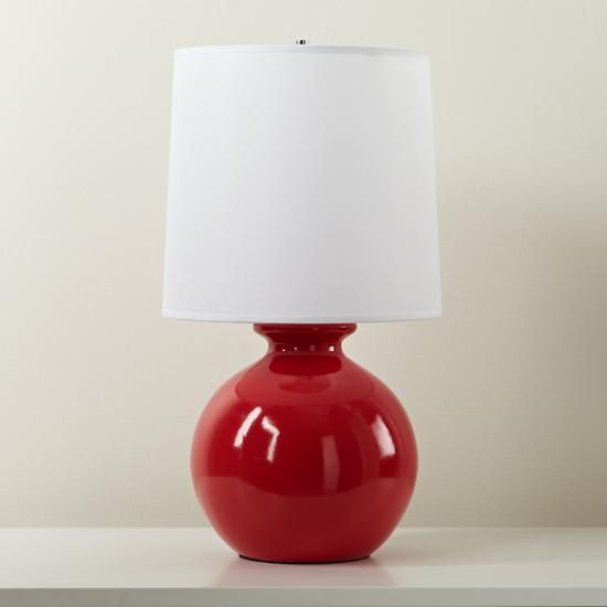 Kids Lighting Red Gumball Table Lamps In The Land Of Nod L I G H T N Pinterest Room Bedroom And Lamp