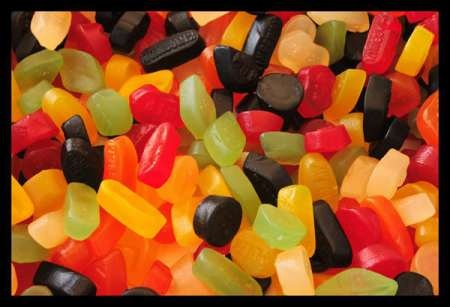 Wine Gums ... one of my weaknesses.