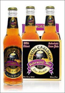 Flying Cauldron Butterscotch Beer - I haven't tried it but a friend of mine just did and told me about it. I often make my own non-alcoholic butterbeer with cream soda and butterscotch flavoring but this would be fun to try. :)