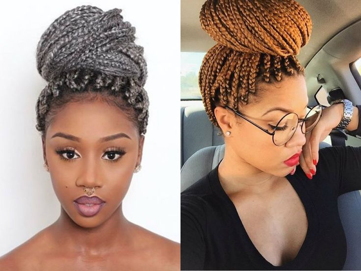 Hairstyles Braids With Color: 1000+ Ideas About Colored Box Braids On Pinterest