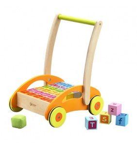 Detské chodítko Classic World s kockami