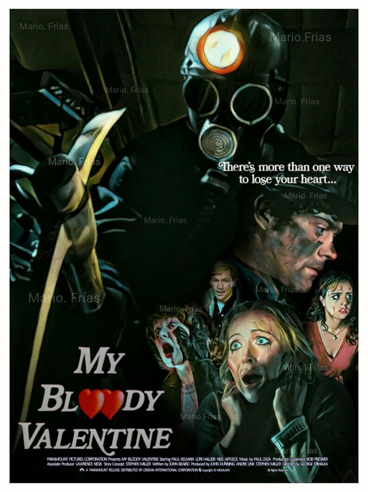 My Bloody Valentine 1981 Horror Movie Slasher Edit By Mario. Frías