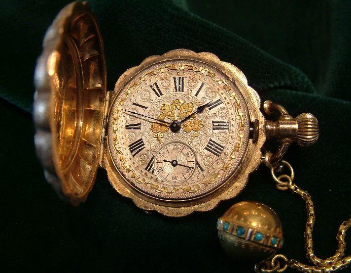 Reloj de bolsillo antiguo