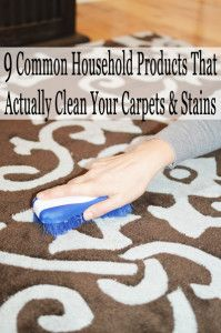 9 Common household products that actually clean your carpets and stains