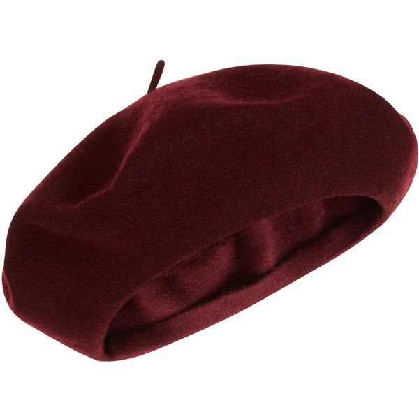 Accessorize Wool Beret Hat ($6.90) ❤ liked on Polyvore featuring accessories, hats, head, headwear, cappelli, wool hat, wool beret, wool beret hat, accessorize hats and woolen hat