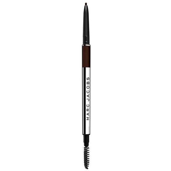Marc Jacobs Brow Wow Defining Longwear Eyebrow Pencil (110 RON) ❤ liked on Polyvore featuring beauty products, makeup, eye makeup, eye pencil makeup, marc jacobs, eyebrow cosmetics, long wear makeup and eyebrow makeup