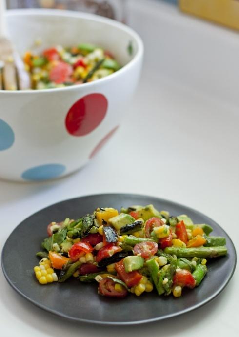 Avocado, Corn and Asparagus Salad   Food & Recipes   Pinterest