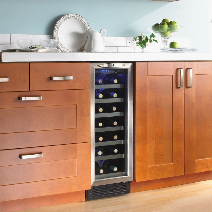 23 best images about fridges and wine coolers on pinterest for Modern homes 8 bottle wine cooler