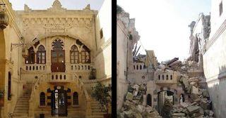 12 Fotos de Siria antes y después de la guerra. ¡Es muy IMPACTANTE!