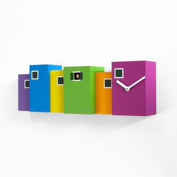 Burano Wall Clock Multi, $425, now featured on Fab.