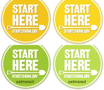 start2farm.gov - Thinking a backyard, front yard, small farm may or could be in your future? Good info here for beginners!